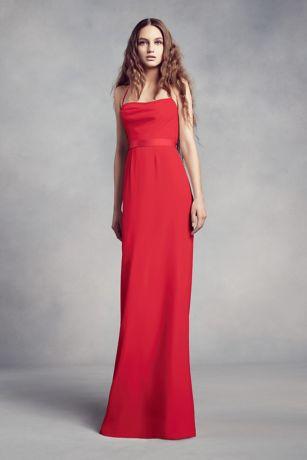 Red Bridesmaid Dresses Davids Bridal