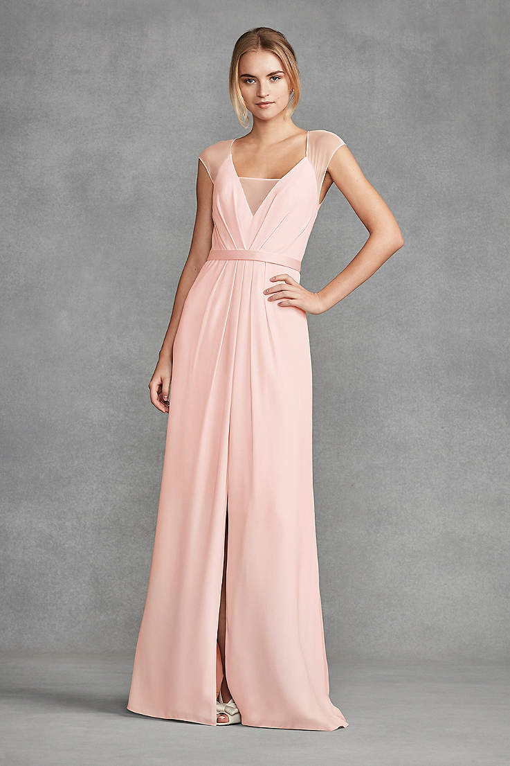 8625c3f6ec7c Blush Bridesmaid Dresses - Blush Pink Colored Dresses | David's Bridal