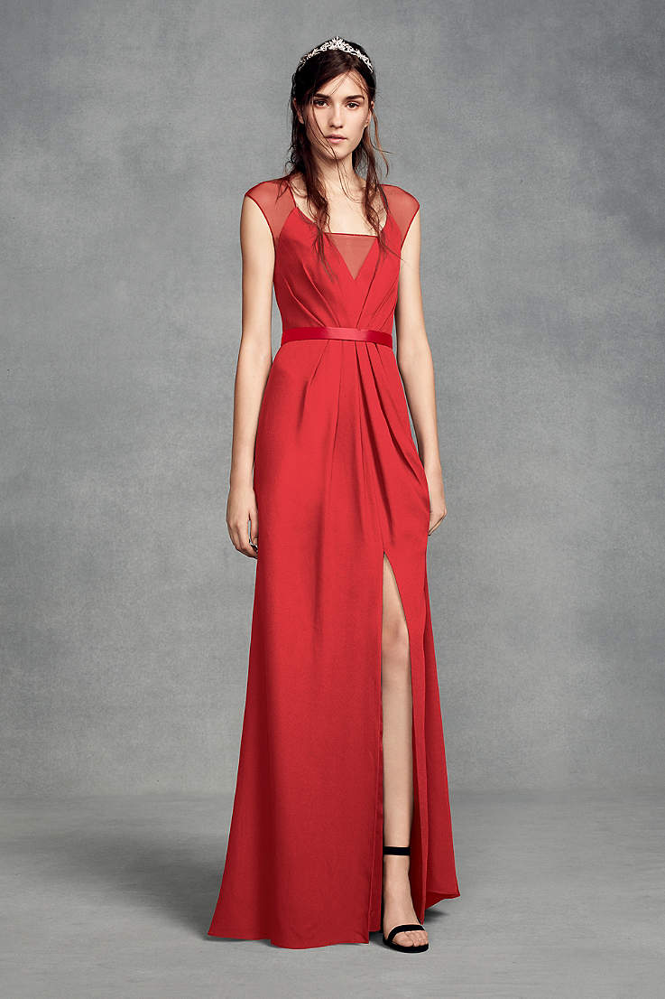 93a80dce6eb5 Long Red Dresses - Red Formal Dresses & Gowns | David's Bridal