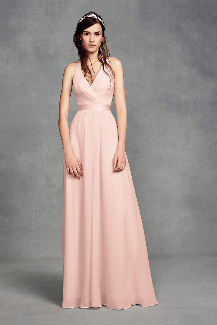 Blush Bridesmaid Dresses Blush Pink Colored Dresses David S Bridal