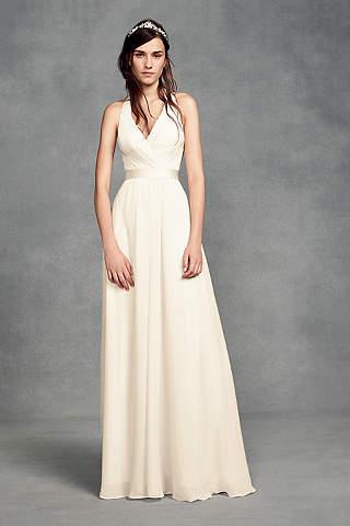 White Bridesmaid Dresses: Short & Long | David\'s Bridal