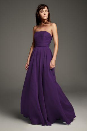A Line Organza Dress