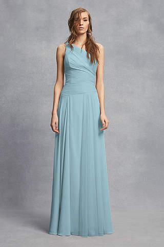 Vestido Para Dama Recto Liso de un Tirante
