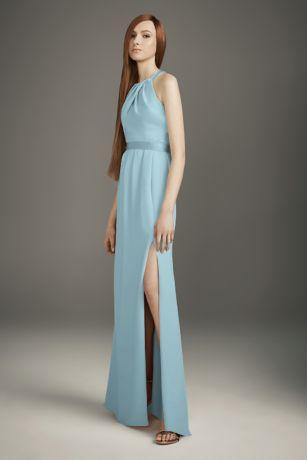 White by Vera Wang Long Bridesmaid Dress