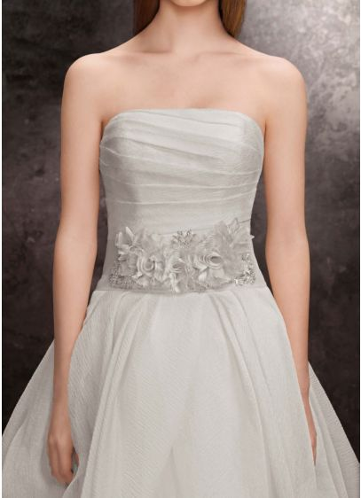 0 Wedding Dress White By Vera