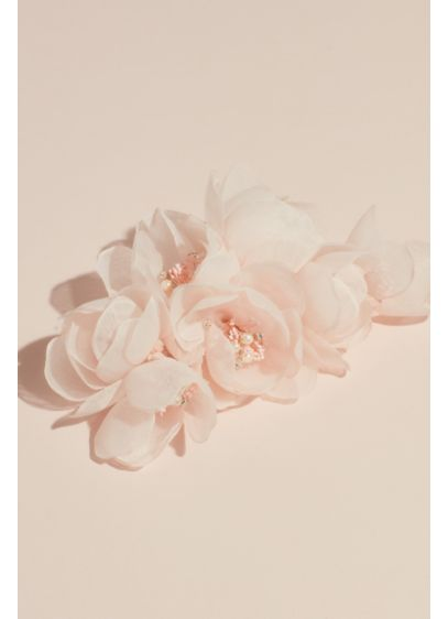 White by Vera Wang Ivory (White by Vera Wang Faux Flower Pin with Pearls)