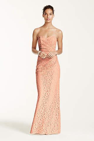 b6e67141181 ColsBM Alana Peach Elegant V-neck Sleeveless Zip up Floor Length Ruching  Bridesmaid Dresses