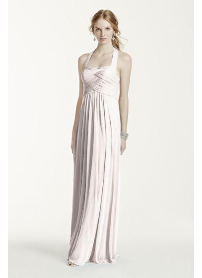 Long Sheath Halter Dress - David's Bridal