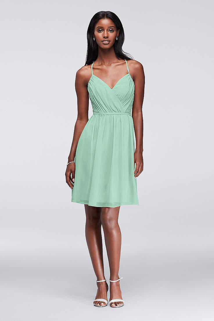 4074fc195e30 Mint Green Bridesmaid Dresses & Gowns | David's Bridal