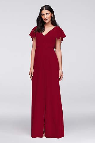 Long Sheath Wedding Dress   Davidu0027s Bridal