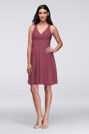 Short Sheath Tank Dress - David's Bridal
