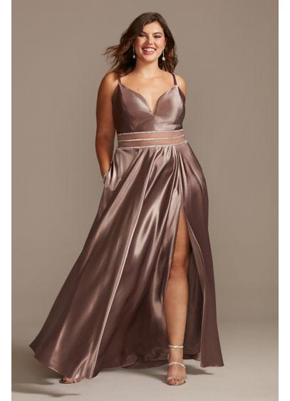 Long A-Line Spaghetti Strap Formal Dresses Dress - Speechless