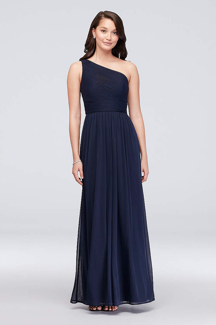 b59279e88dea Blue Prom Dresses: Short & Long Lengths | David's Bridal