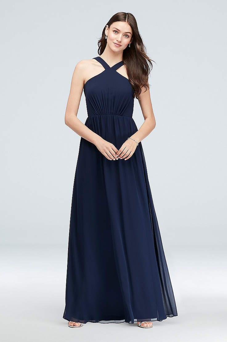 ea397136a5894 Navy Blue Bridesmaid Dresses for Weddings | David's Bridal