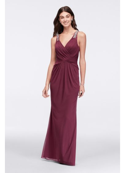 Long A-Line Tank Cocktail and Party Dress - David's Bridal