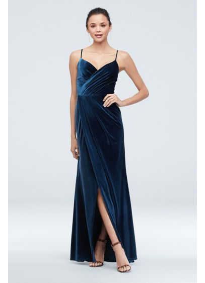 Long Sheath Spaghetti Strap Formal Dresses Dress - David's Bridal