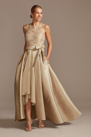 High Low Ballgown Tank Dress - David's Bridal