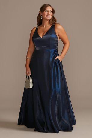 Long Ballgown Tank Dress - David's Bridal