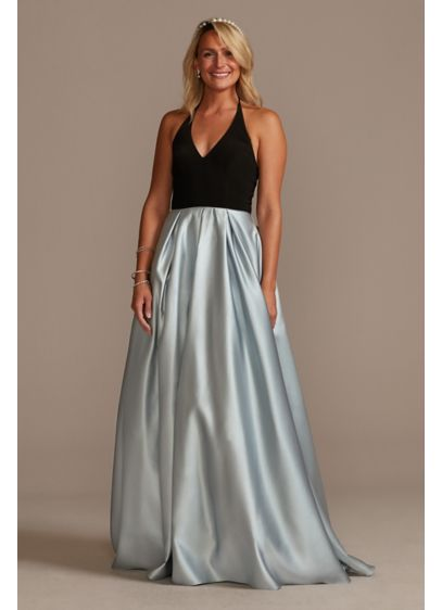 Long Ballgown Spaghetti Strap Prom Dress - Jules and Cleo