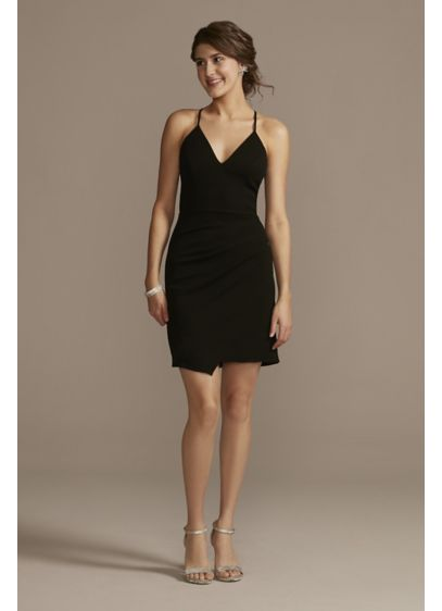 Short Sheath Spaghetti Strap Cocktail and Party Dress - Jules and Cleo