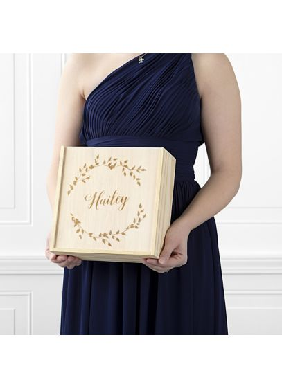 Beige (Personalized Floral Bridesmaid Gift Box SET)