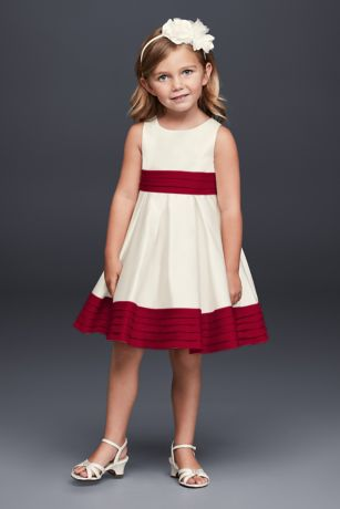 Flower Girl Dresses Apple Red