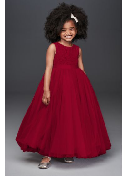 Heart Cutout Ball Gown Flower Girl Dress - Flower girls will feel like they're living in