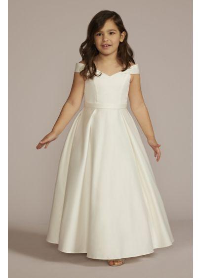 Long Ballgown Off the Shoulder Dress - DB Studio