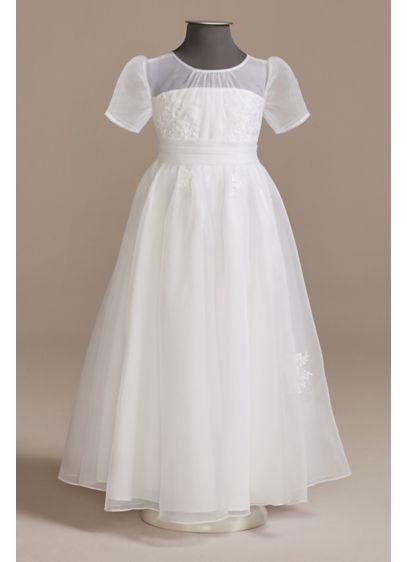 Tea Length Ballgown Cap Sleeves Dress - DB Studio
