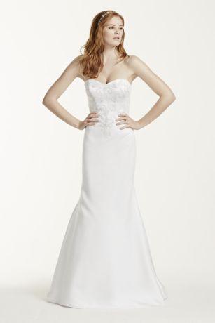 Satin Sweetheart Wedding Dress