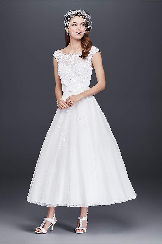 Tea Length & Knee Length Wedding Dresses   David\'s Bridal