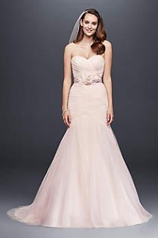 Long Mermaid Trumpet Simple Wedding Dress David S Bridal Collection
