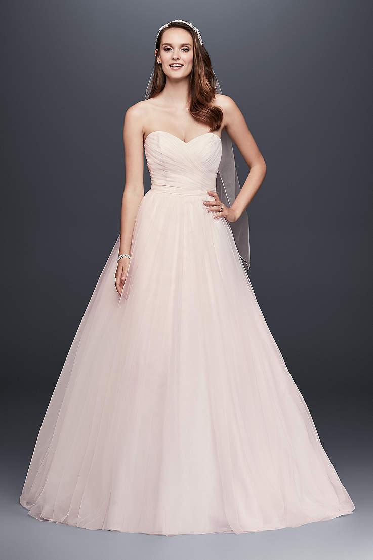 86c34ea98 Long Ballgown Wedding Dress - David's Bridal Collection