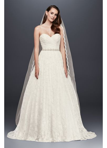 Lace Sweetheart Wedding Ball Gown | David\'s Bridal
