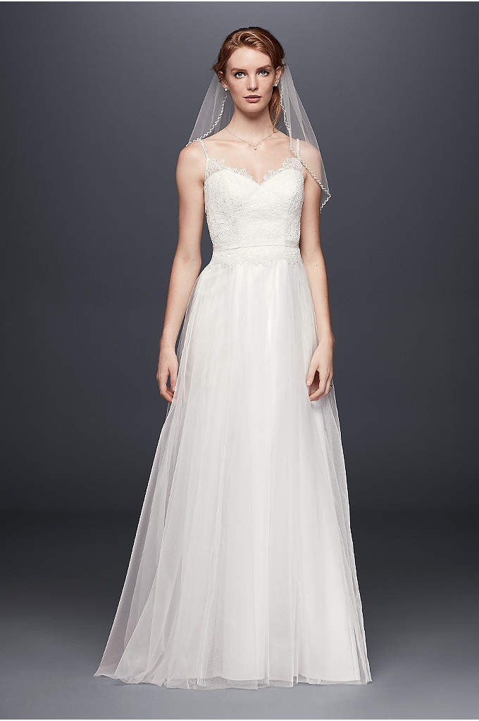 White A-line Wedding Dresses & Gowns   David\'s Bridal