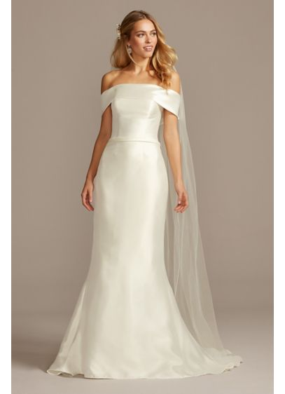 Long Mermaid/Trumpet Casual Wedding Dress - David's Bridal Collection