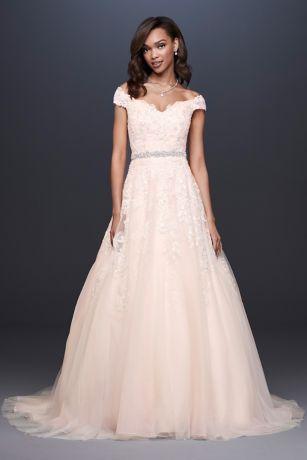 c38d61d758 Long Ballgown Wedding Dress - David s Bridal Collection