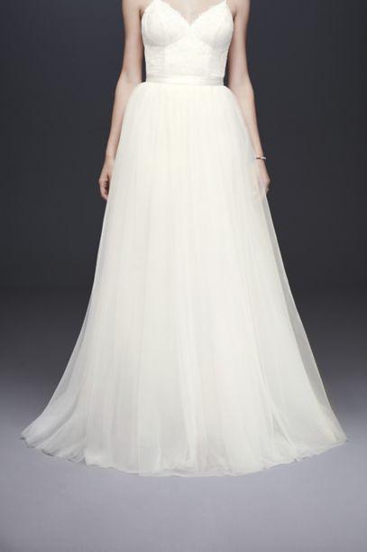 Tulle Ball Gown Wedding Skirt Davids Bridal