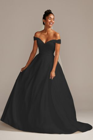 Black Wedding Dresses \u0026 Gowns: Plus