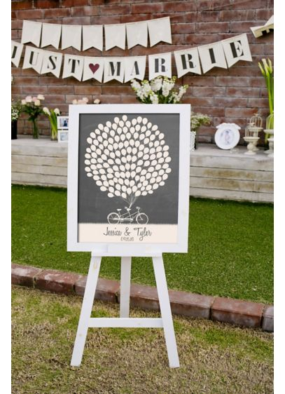 Personalized Balloon Signature Guest Book - Wedding Gifts & Decorations