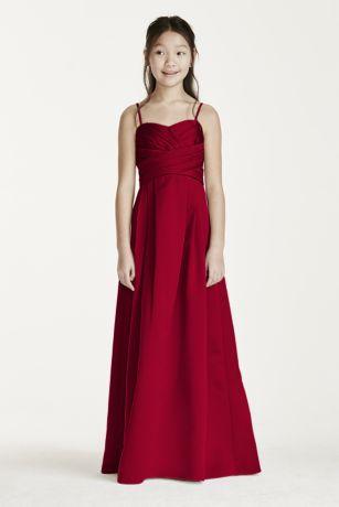 Long Ballgown Spaghetti Strap Dress -