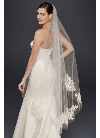 Lace Walking Veil - Wedding Accessories
