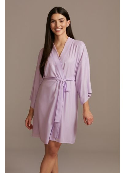 Chiffon Wrap Front Robe - Wedding Gifts & Decorations