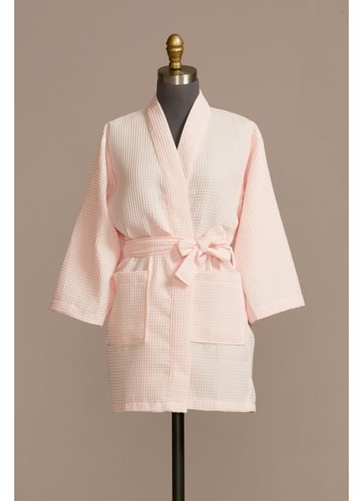 Junior Bridesmaid Embroidered Waffle Knit Robe - This cute waffle robe was made for every