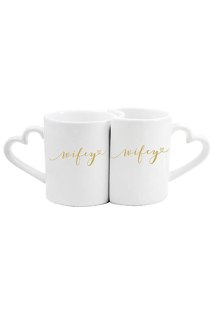 Wifey and Wifey Coffee Mug Set