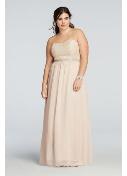 Long Pink Soft & Flowy Bridesmaid Dress