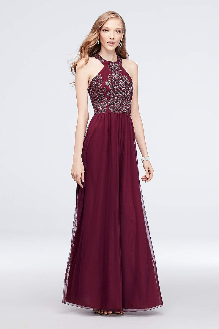 a658f2efeda Burgundy   Wine Prom Dresses - Dark Red Gowns