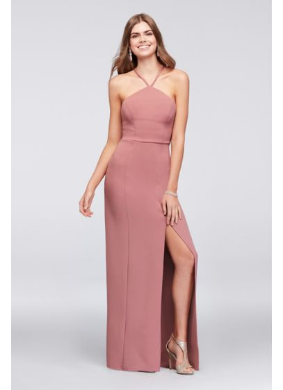 Long Sheath Halter Formal Dresses Dress - Speechless