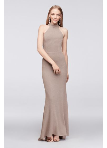 Long Mermaid/ Trumpet Halter Cocktail and Party Dress - Speechless
