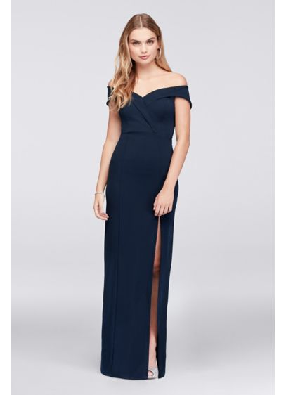 Long Sheath Off the Shoulder Cocktail and Party Dress - Speechless